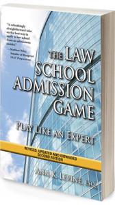 Law school admission essay books