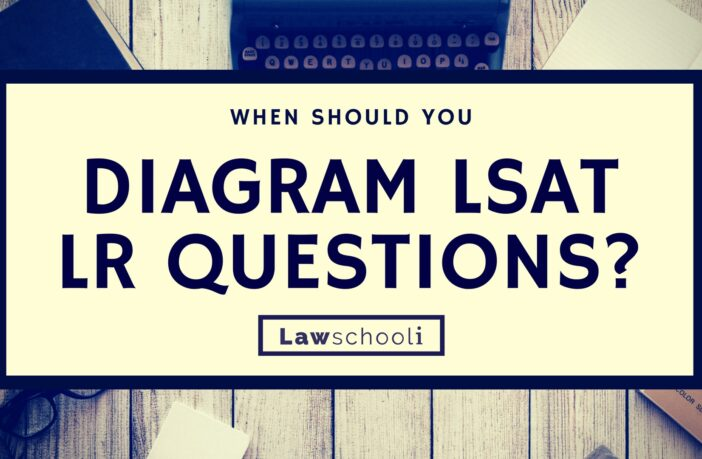 When to Diagram LSAT LR Questions