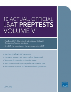 10-actual-official-lsat-preptests-volume-v