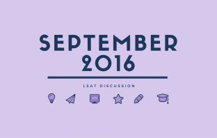 September 2016 LSAT Discussion