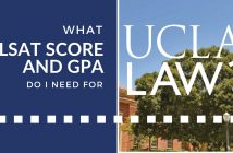 LSAT and GPA for UCLA Law School