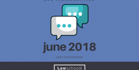 June 2018 LSAT Discussion