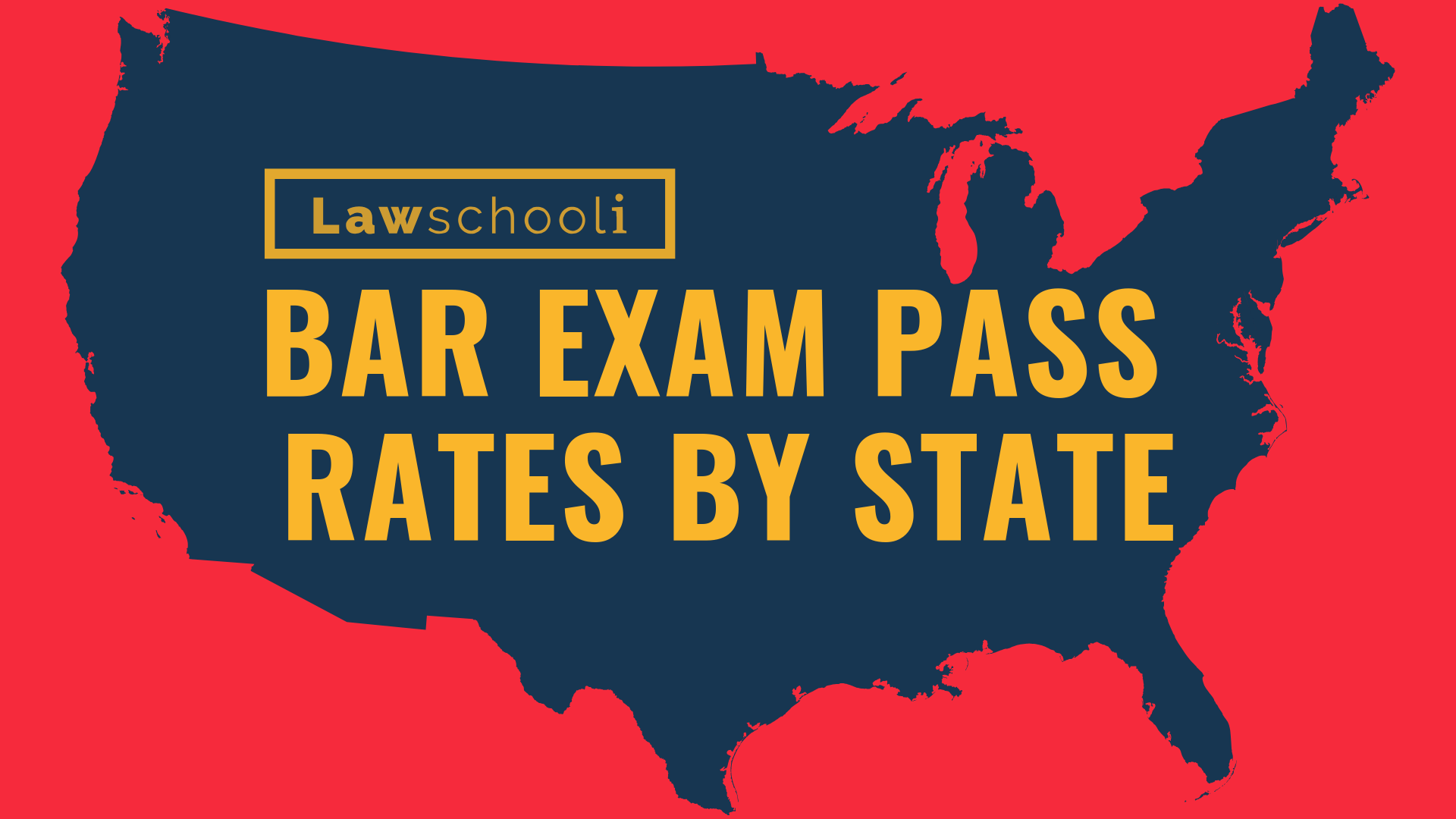 Bar Exam Pass Rate By State Lawschooli
